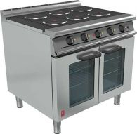 Prime Cooking Electric, Fan Assisted Electric Oven, Falcon Dominator E3101P OTC 6HP on Legs