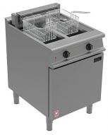 Prime Cooking Electric, Commercial Fryers Electric Freestanding, Double Pan, Double Basket, Falcon Dominator E3865