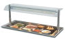 Servery Display, Heated Recessed Tops, Victor DHRT5