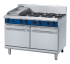 Prime Cooking Gas, Ranges 8 Burner Gas, Blue Seal G528C