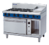 Prime Cooking Gas, Convection Ovens Gas, Blue Seal G58C 8 Burner Range Gas