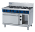 Prime Cooking Gas, Ranges 8 Burner Gas, Blue Seal GE508D