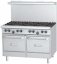 Prime Cooking Gas, Ranges Medium Duty 10 Burner Gas, Garland GF60-10RR