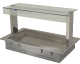 Servery Display, Heated Recessed Tops, Victor Synergy SSHRT2
